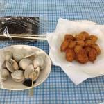休漁日イベント 大試食会2